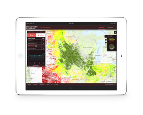 agtech application for comparing and predicting