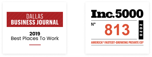 dallas business journal 2019 best places to work, inc 5000 america's fastest growing private companies